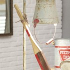 DA1308_thePHAGshop_ Rustic Table Lamp- Oar & Metal Bucket
