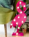 DA5371 LED Marquee Flamingo Light Wall Art- Use
