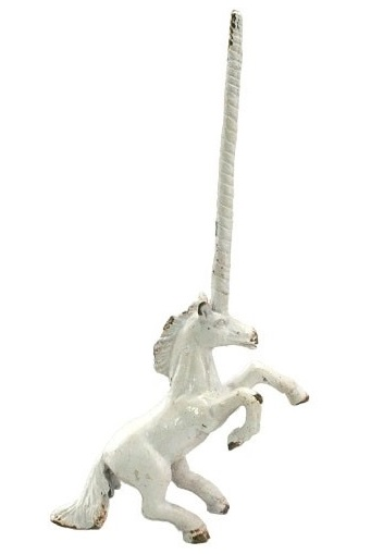 EA665_thePHAGshop_Cast Iron Unicorn Ring Holder- Antique White