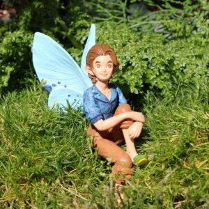 FAIRY-HOLDEN _thePHAGshop_The Fairies_Boy Fairy_Garden Fairy Figurine