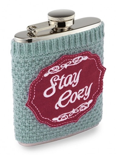 FLASK983A Sweater Cozy Flask