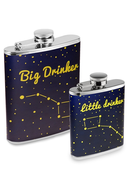 FLASKT5791_thePHAGshop_Astronomy Flask Set- The Dippers