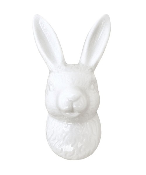 FPG23_thePHAGshop_White Bunny Rabbit Wall Decor