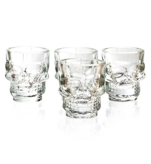 GL06 Set 4- Skull Shot Glasses