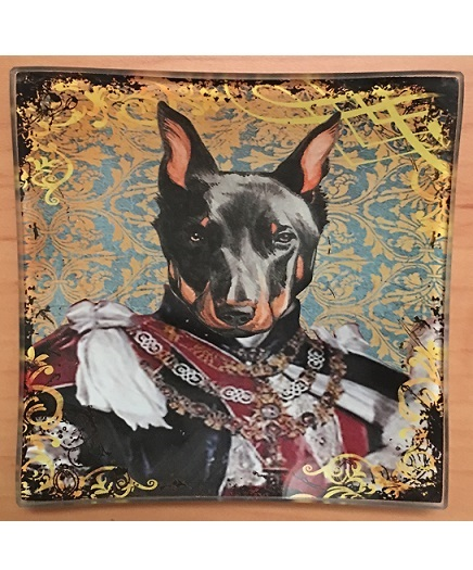 KA149_thePHAGshop_Royal Canine Decorative Glass Dog Tray- Detail 4