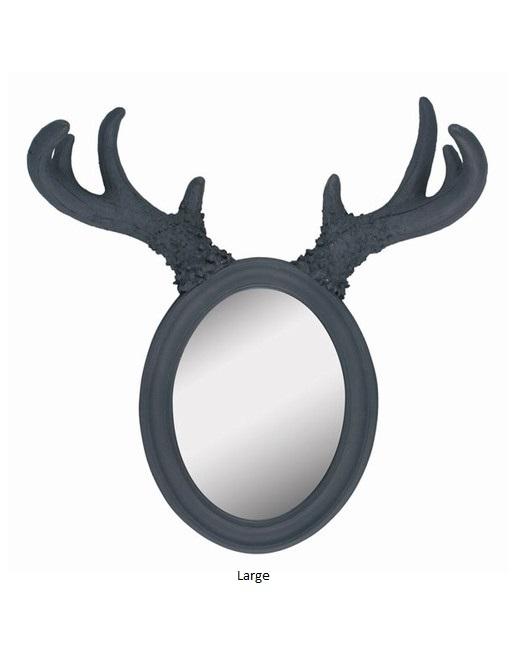 KMB83_thePHAGshop_Faux Antler Mirror- Large