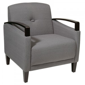 MST51-W12 St.Louis Chair- Charcoal
