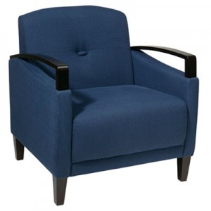 MST51-W17 St.Louis Chair- Indigo