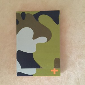 Mini Flipbook- Camo