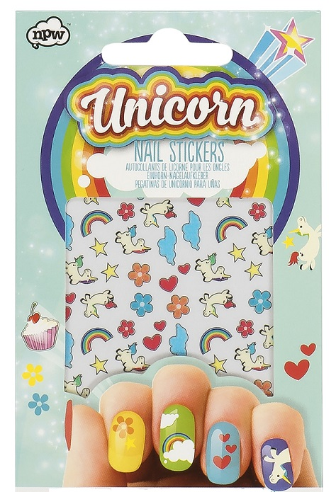 NP36640_thePHAGshop_Novelty Unicorn Nail Stickers