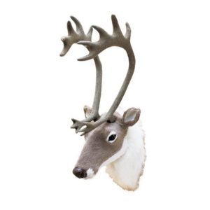 NZDF2040_thePHAGshop_Mini Faux Fur Deer Head Trophy
