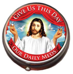 Nov Pill Box - Jesus