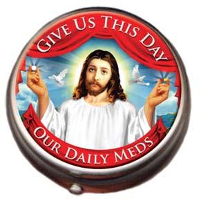 Nov Pill Box - Jesus