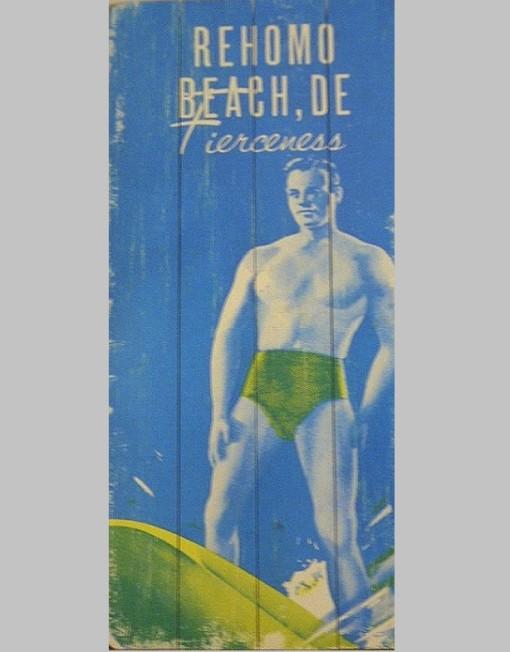 PHAG Wood Sign- Rehomo Beach