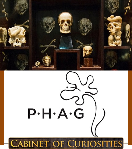 PHAGs Cabinet of Curiosities