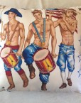 Patriotic PinUp 16- Drumming Dudes- Front