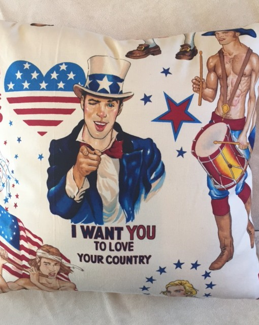 Patriotic PinUp 16- I Want You- Front