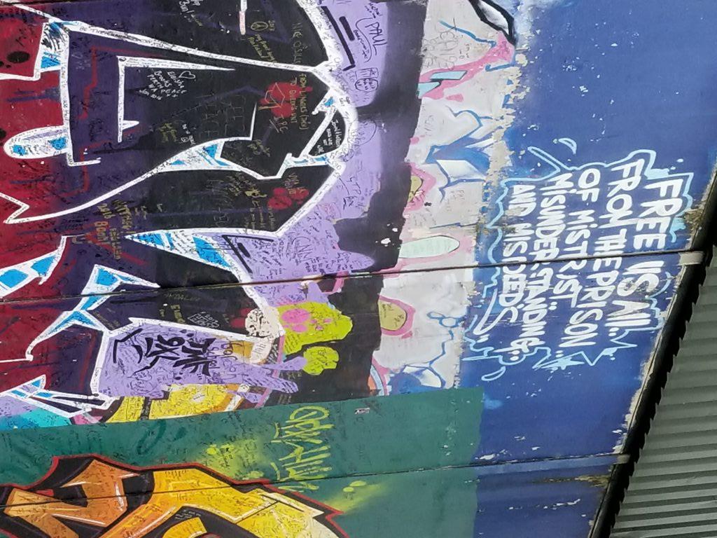 Peace Wall- Belfast, Northern Ireland