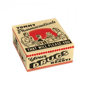 Petite tin box- Yummy drugs