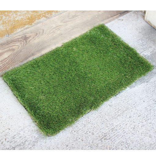 SGDS2010_thePHAGshop_Green Grass Door Mat- Rectangle
