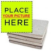 Set 4- Custom Marble Coasters