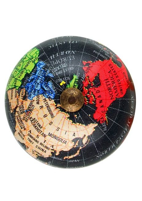 TA23_thePHAGshop_Decorative Black Globe Knob- Large