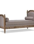 TSF-8133_thePHAGshop_French Linen Upholsterd Daybed- Beige