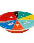 WCAKE20_thePHAGshop_Wheel of Portion Novelty Cake Platter