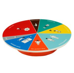 WCAKE20_thePHAGshop_Wheel of Portion Novelty Cake Platter