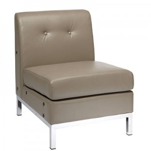 WST51N-U22 Eco Leather Modular Chair- Smoke
