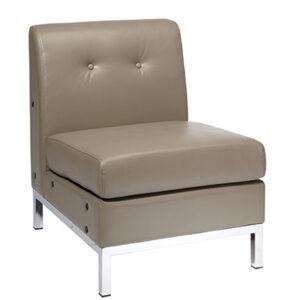 WST51N-U22 Eco Leather Modular Chair- Smoke