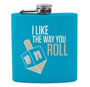 Way You Roll Hanukkah Flask