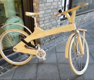 Wooden Bicycle- Frankfurt, Germany