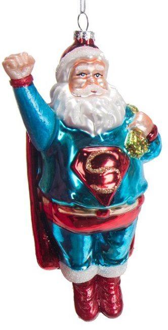 ZM429_thePHAGshop_Super Santa Ornament- Superman