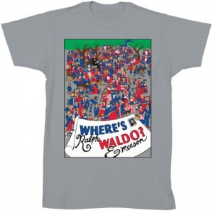 art and cult tee- wheres waldo