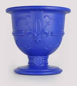champagne pot-dark Blue