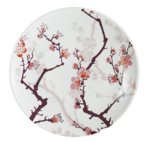 cherry blossom salad plate