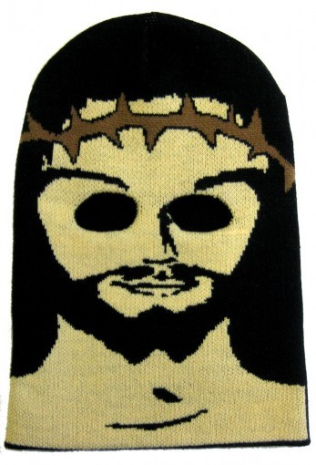 nov knit mask Jesus