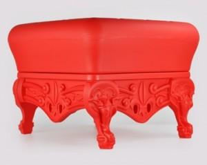 prince ottoman red