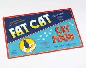 retro Placemat-Cat