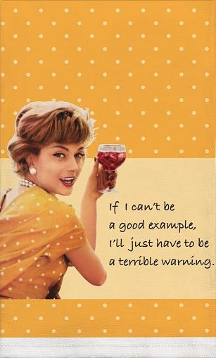 retro terrible warning