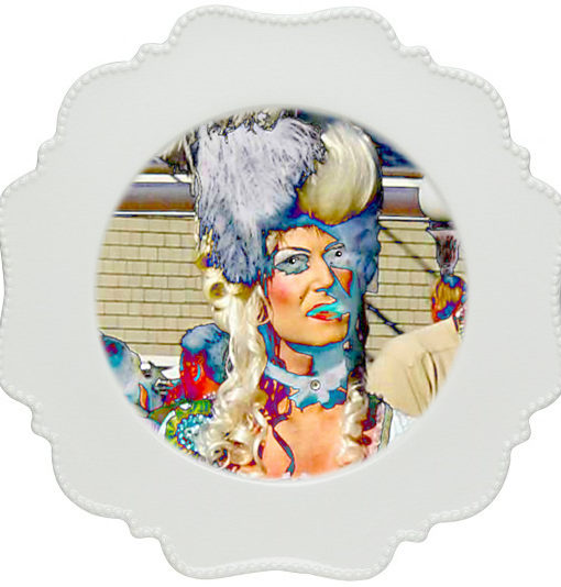 thePHAGshop_Drag Queen Photo Appetizer Plate 2 Detail