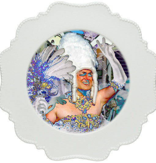 thePHAGshop_Drag Queen Photo Appetizer Plate 3 Detail