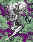 thePHAGshop_Elephant Art Print Party Animal Pinup- WM