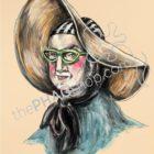 thePHAGshop_George Washington Art Print Politics are a Drag- WM
