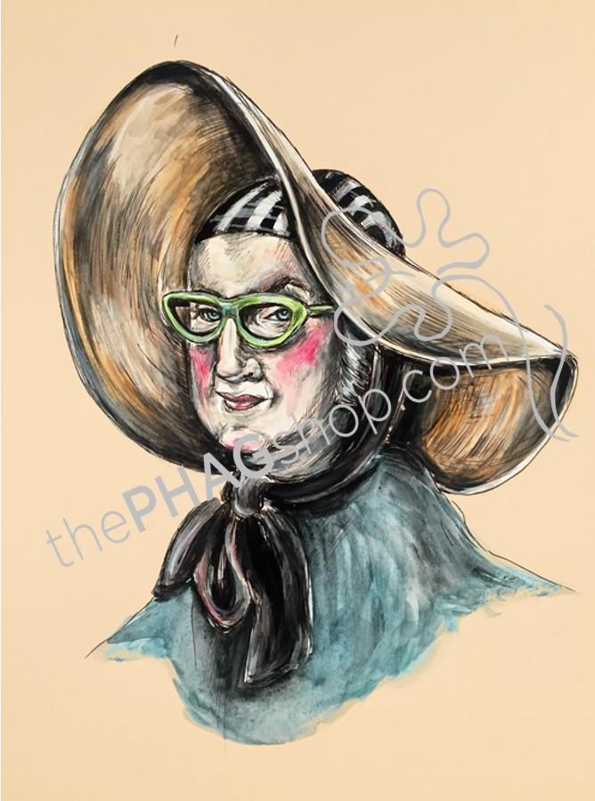 George Washington Art Print Politics Are A Drag