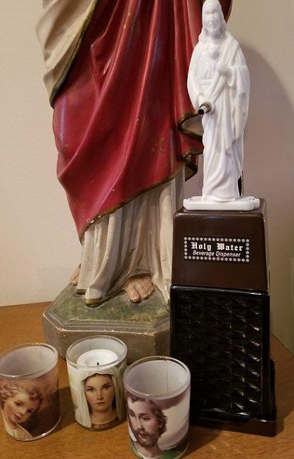 thePHAGshop_Novelty Jesus Holy Water Beverage Dispenser- Detail