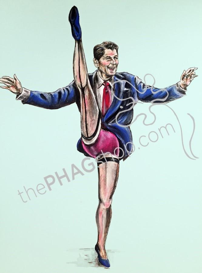 Politics Are A Drag Political Parody Art Prints Set 4