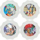 thePHAGshop_Set 4 Drag Queen Photo Appetizer Plates