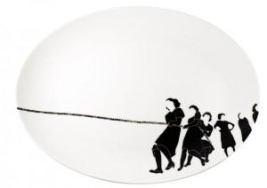 tug dinner ware -platter